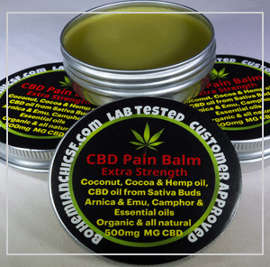 Natural CBD Cream For Pain Relief